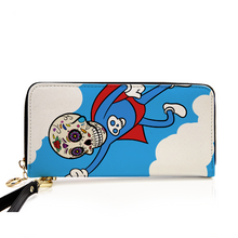 Super Hero Body Ghost Leather Purse