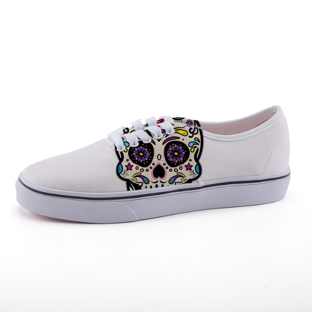 Body Ghost Classic Print Low-top Shoes