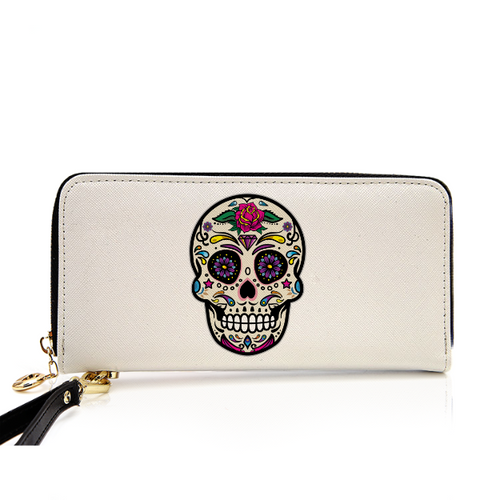 Classic Body Ghost Printed Leather Purse
