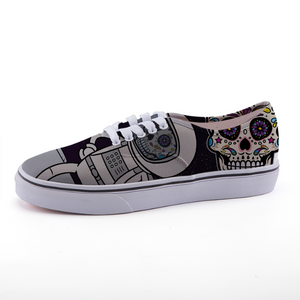 Spaceman Body Ghost Low-top canvas shoes