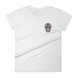 Classic Rose Body Ghost short sleeve t-shirt