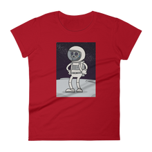 Spaceman Body Ghost short sleeve t-shirt
