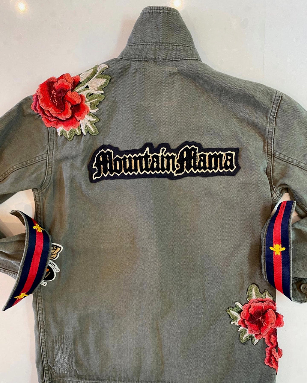The Mountain Mama Army Jacket