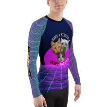 Men's Save a Kitten Rash Guard