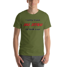 Only Train Jiu Jitsu to Look Cool Short-Sleeve Unisex T-Shirt