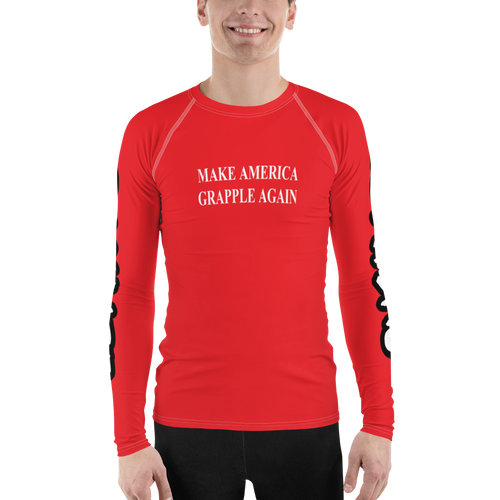 Make America Grapple Again Men's Rash Guard