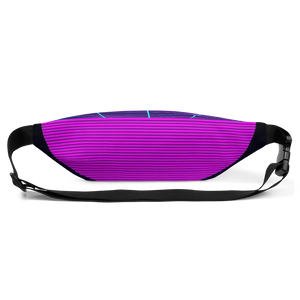 Shark Pit Synthwave Fanny Pack