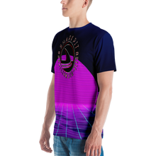 Men's Synthwave Shark Pit Jiu Jitsu T-shirt