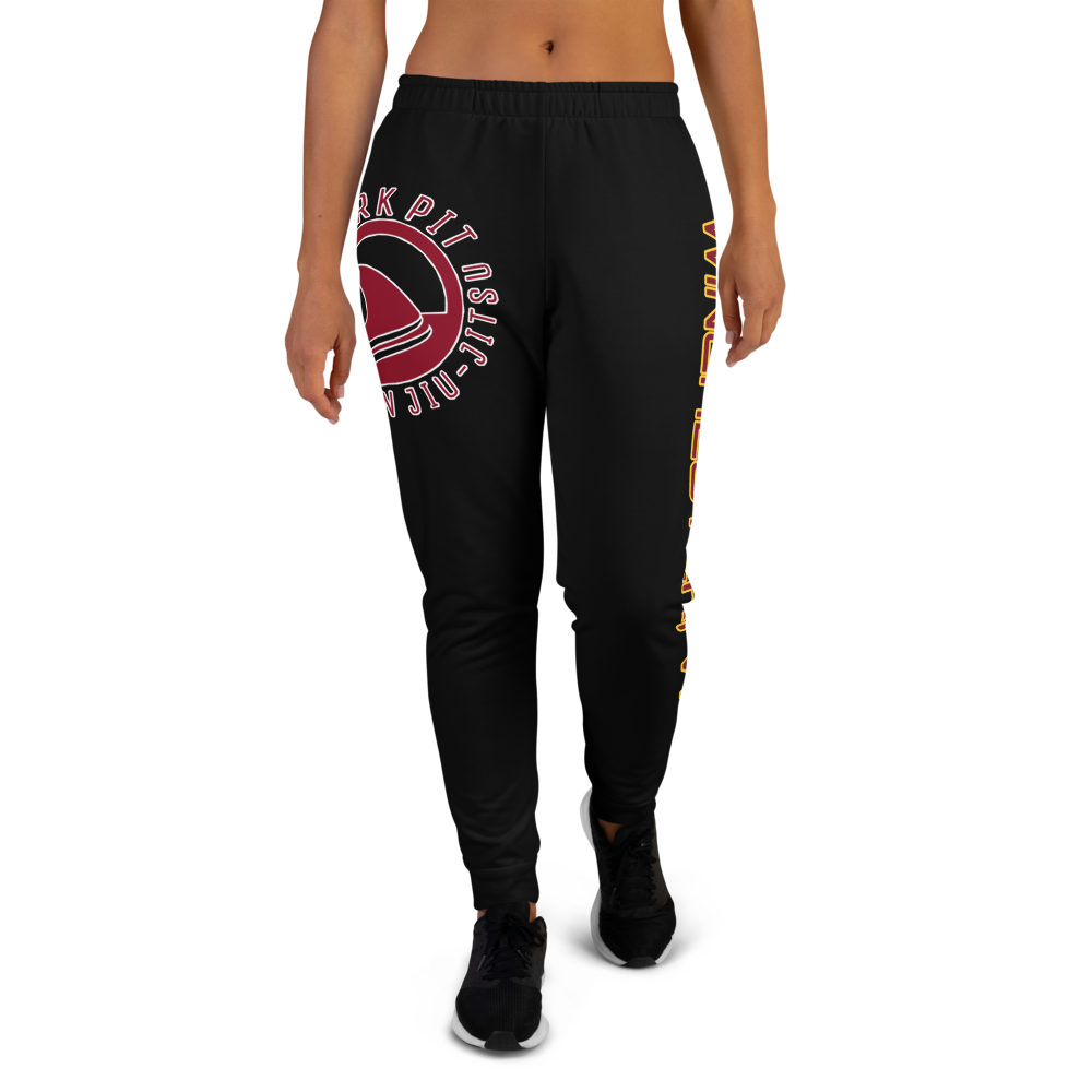 Shark Pit Black Women's Joggers