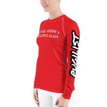 Make America Grapple Again Women's Rash Guard