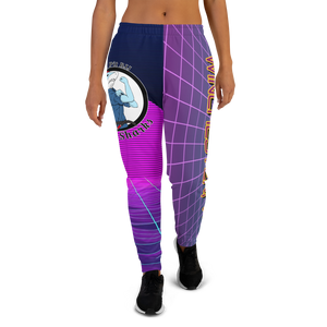 Women's Lady Sharks Synthwave Joggers