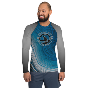 Men's Swirl Shark Pit Rash Guard