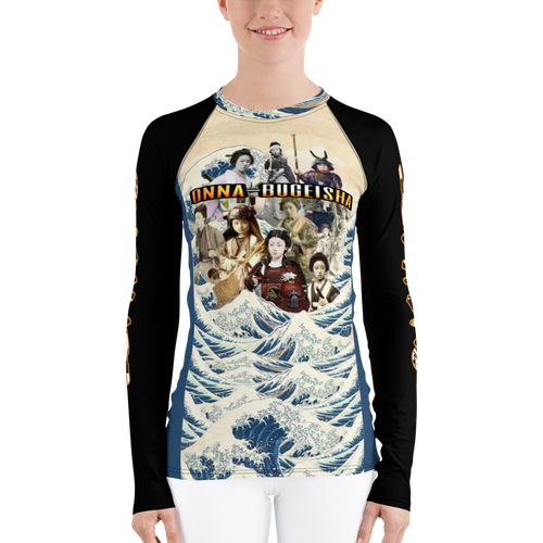 Onna-Bugeisha Women's Rash Guard
