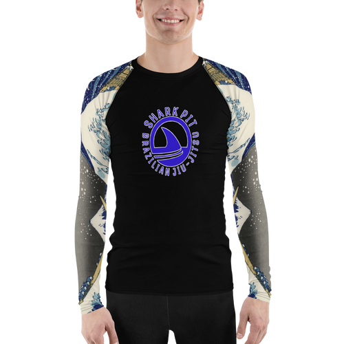 Men's Shark Pit Wave Rash Guard