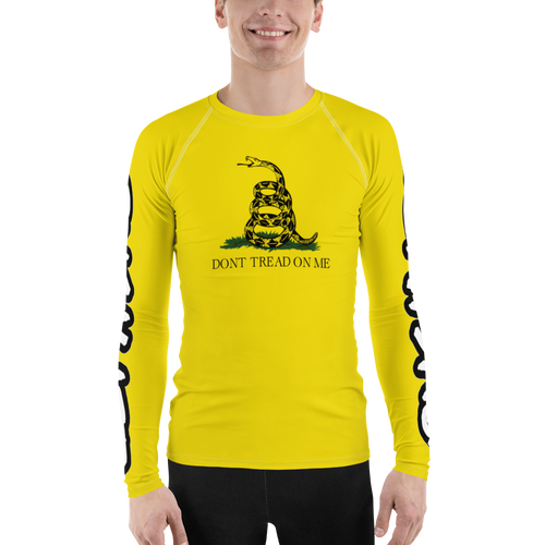 Gadsen Flag Don't Tread On Me - Men's Rash Guard