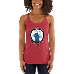 Women's Lady Shark Racerback Tank