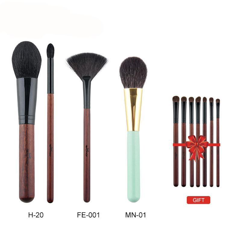 Experience with Professional 3 pieces Must Have High Quality Natural Pony Hair Makeup Brushes with one Profession Pony Hair Eyeshadow brush set!