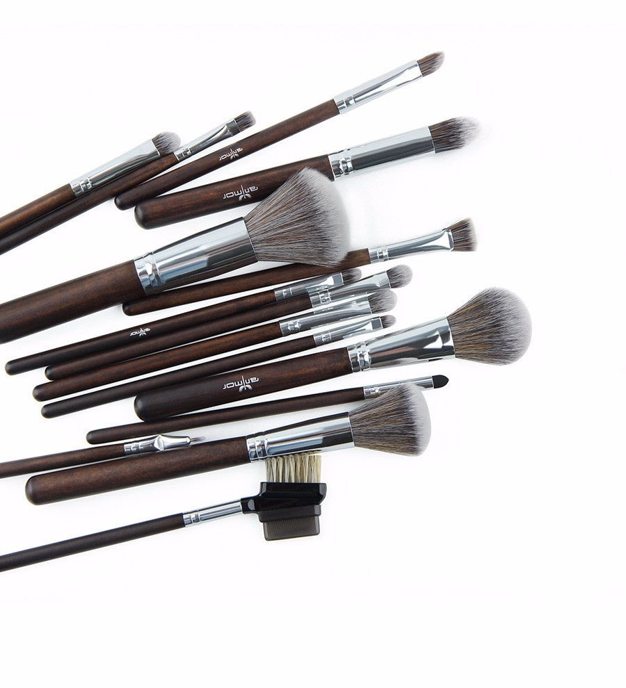 23 pcs Professional Synthetic Makeup Brushes Set Soft Powder or Liquid  Make Up Tools
