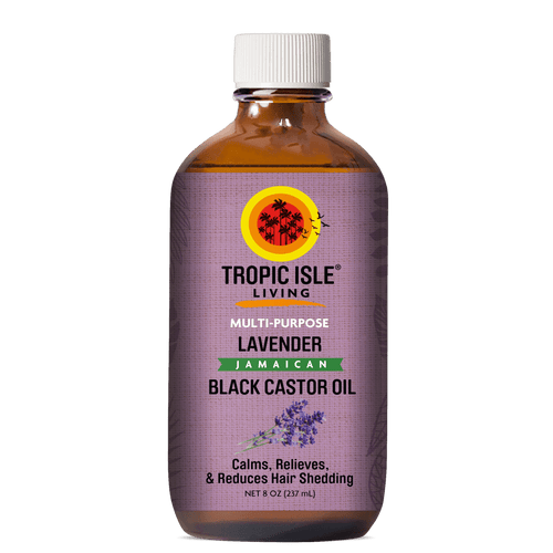 Lavender Jamaican Black Castor Oil (8 oz.)
