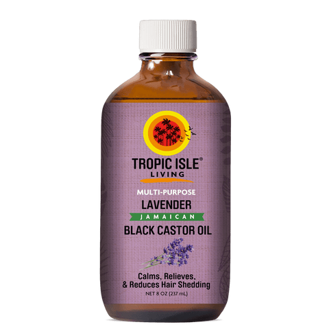 Lavender Jamaican Black Castor Oil (4 oz.)