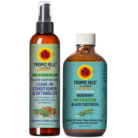 Jamaican Black Castor Hair Growth Oil (4 oz.) | New Look!