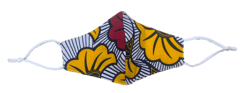 TIL Kente Cloth Print Protective Textile Mask