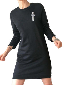 sudadera vestido (NIZA) little black dress