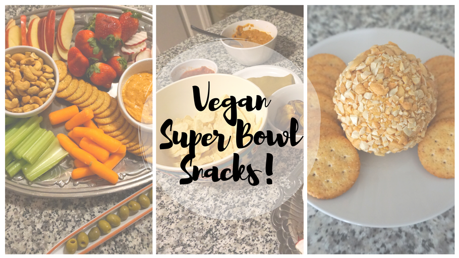 Vegan Super Bowl Snacks! {VIDEO}