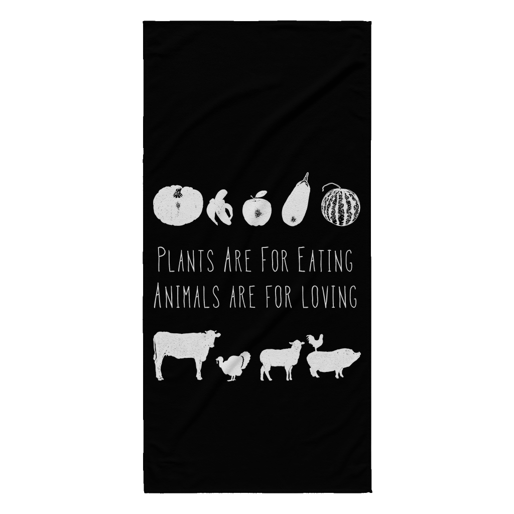 Plants Are For Eating Towel
