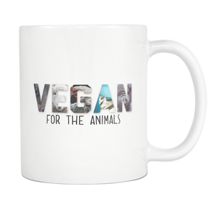Vegan For The Animals Mug