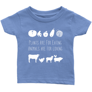 Plants Are For Eating Shirt (Infant & Toddler Sizes)