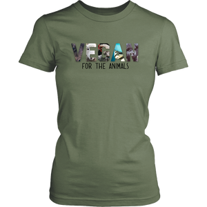 Vegan For The Animals T-Shirt