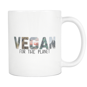 Vegan For The Planet Mug