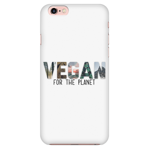 Vegan For The Planet Phone Case