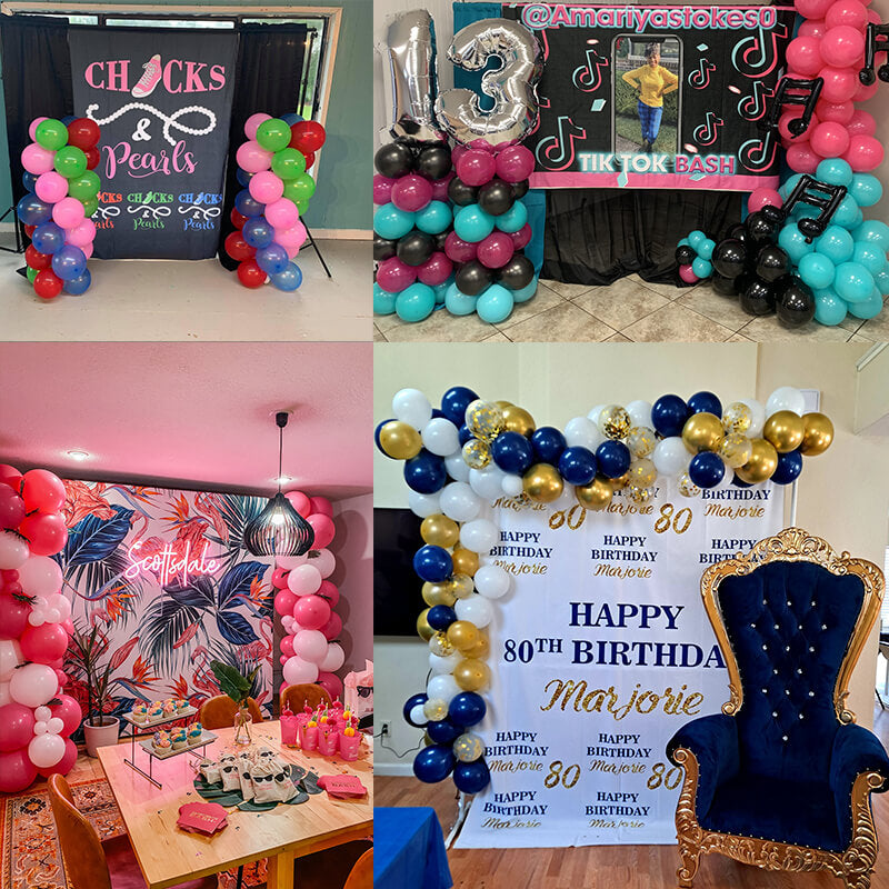 Custom Fabric Backdrop for Birthday&Baby Shower&Wedding& Any Event Decorations