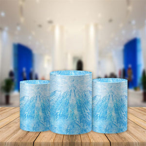 Frozen Utility Pedestal Covers Plinth Cover Printed Fabric Pedestal Cover-[product_tag]-ubackdrop