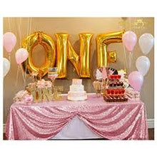 Load image into Gallery viewer, Pink  Sequin Tablecloth  Sparkly Tablecloth Sequin Tablecloth