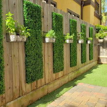 Load image into Gallery viewer, Greenery Wall Backdrop Artificial Boxwood Hedges Panels for Party Decoration