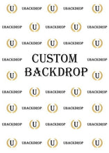 Load image into Gallery viewer, Custom Fabric Backdrop for Birthday&Baby Shower&Wedding& Any Event Decorations-ubackdrop