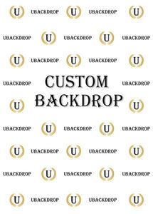 Custom Fabric Backdrop for Birthday&Baby Shower&Wedding& Any Event Decorations-ubackdrop