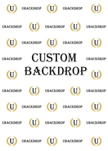 Custom Fabric Backdrop for Birthday&Baby Shower&Wedding&Any Other Party - [product_tag] - ubackdrop