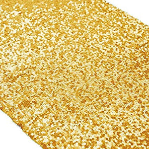 Rectangular&Round Gold Sequin Tablecloth Banquet Ceremony Sparkly Tablecloth Sequin Tablecloth-ubackdrop