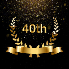 Load image into Gallery viewer, 40th Birthday Backdrop Birthday Party Themes for Adults - [product_tag] - ubackdrop