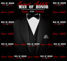Load image into Gallery viewer, 40th Birthday Ideas for Men/Husband, Man Of Honor Backdrop-[product_tag]-ubackdrop