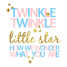 Load image into Gallery viewer, Twinkle Twinkle Little Star Backdrop Baby Shower Backdrop Ideas