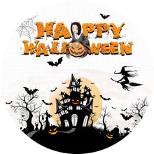 Load image into Gallery viewer, Halloween Backdrop Circle Backdrop Halloween Photo Backdrop Ideas-Round Backdrop-[product_tag]-ubackdrop