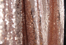 Load image into Gallery viewer, Champagne Sequin Tablecloth  Sparkly Tablecloth Sequin Tablecloth
