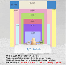 Load image into Gallery viewer, Teddy Bear Backdrop for Baby Shower Its A Boy Teddy Bear Backdrop-[product_tag]-ubackdrop