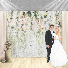 Load image into Gallery viewer, White and Pink Rose Flower Custom Backdrop - [product_tag] - ubackdrop
