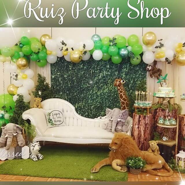 Greenery Wall Backdrop for Birthday&Baby Shower&Wedding&Any Other Party-[product_tag]-ubackdrop